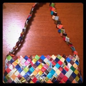 Handbags - Wrappers colorful purse - used only once. Like new